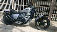 black and gray cruiser motorcycle Los Angeles, 90035