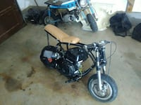 Custom built mini bike just finished it