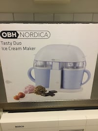 Nordica välsmakande duo ice cream maker box Eskilstuna, 633 51