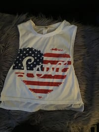Adorable Fourth of July top Baltimore, 21222