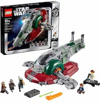 Star Wars lego slave 1 playset new in sealed package unopened brand new yours for 115.00 Boston, 02110