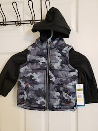 Camo Jacket Toddler (Size - 3T) By iXtreme Pooler