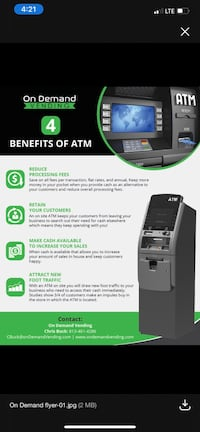 Free ATM for Business Owners Tampa, 33605