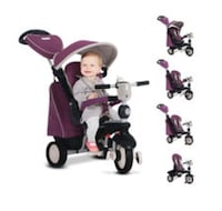 Toddler's purple pedal trike with canopy Charlotte, 28277
