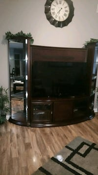 black and gray TV stand Chattanooga, 37412