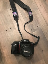 Nikon N50 Camera with new lens cap holder and video cleaning kit. Monrovia, 21770