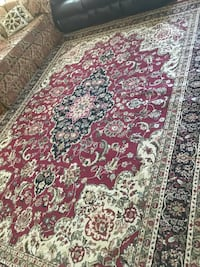 and white floral area rug size 12/9.8