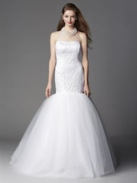 Fit and Flare Wedding Dress Whittier