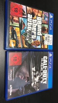 Zwei sony ps4 game cases Ratingen, 40880