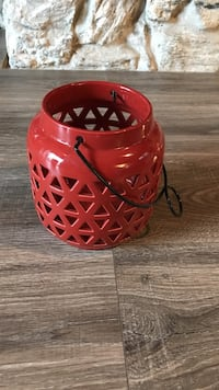 Red lantern - used once. Spring cleaning! Shawnee, 66216