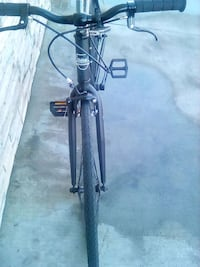 black and gray hardtail mountain bike Los Angeles, 90008