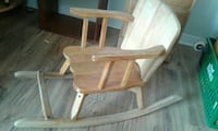 brown wooden rocking chair with white pad Ottawa, K1Z 8H4
