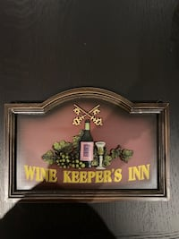 Wine Keeper's inn wall decor  Oakville, L6K