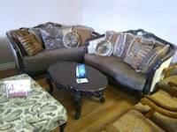 Victorian fancy sofa and love seat available sale Phoenix, 85018