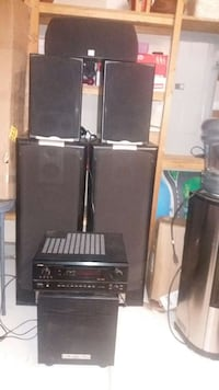 JBL Dolby system With a Denon  Receiver