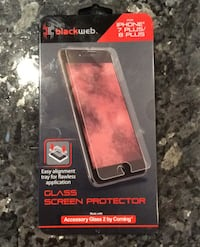 Screen protector for iPhone 7 Plus and 8 Plus Woodbridge, 22193