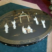 BEAUTIFUL MOTHER OF PEARL ORIENTAL TABLE N CHAIRS  Port Charlotte, 33948