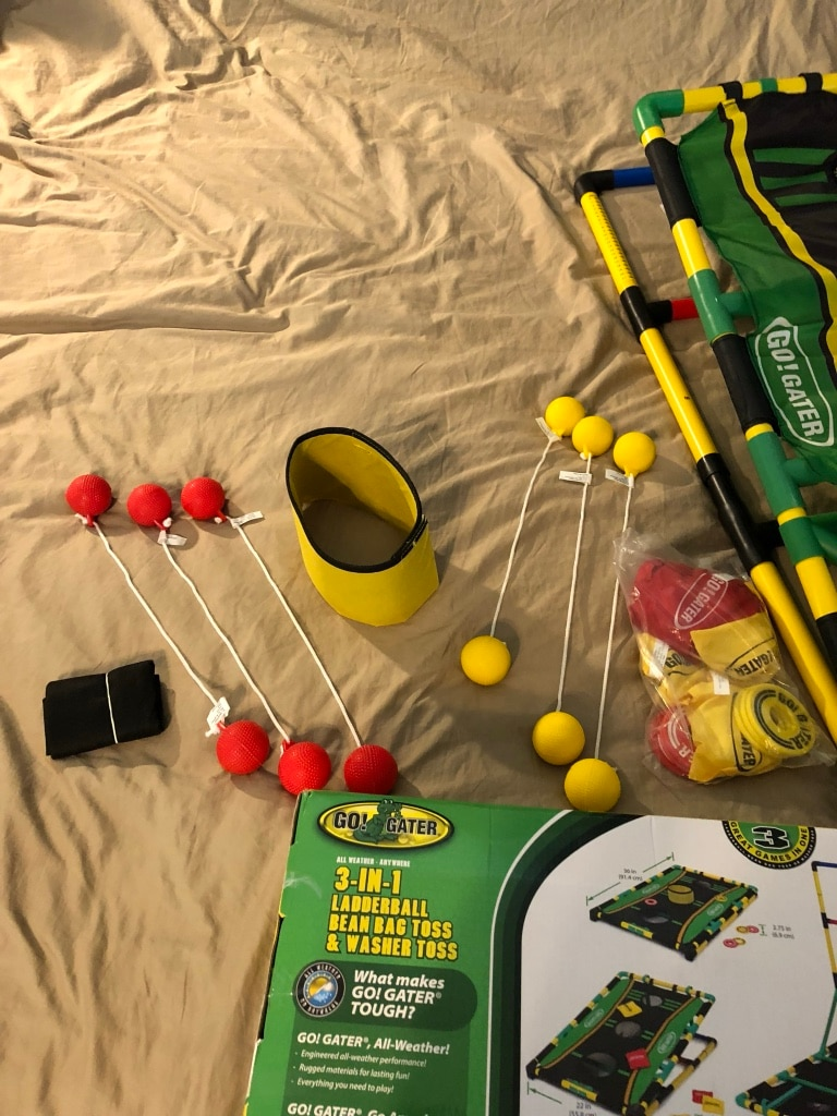 GATER Washer Toss Game Set Indoor Outdoor All Weather New In Box GO