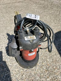 Sump pump red lion 1/2 horse Eugene, 97405