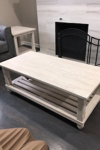 Coffee tables and two side tables rustic shabby chic