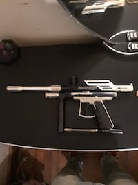 Silver and black Genesis paintball marker Baltimore, 21214