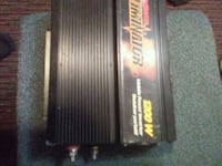 black and red Crunch car amplifier Langley, V3A 1M8