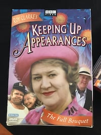'Keeping up appearances '8 DVD set- comedy Aurora, L4G 5M4