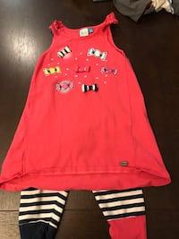 Girls size 4 tank top with matching leggings Odessa, 79762