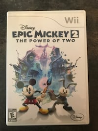 Epic Mickey 2 Wii Game  Montréal, H1G 5Z4