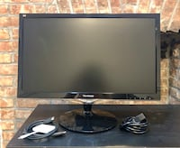 """Excellent 24"""" Monitor + HDMI Cable & USB-C Adapter New York, 10027"""
