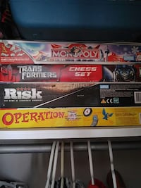 four board game boxes Calgary, T1Y 5N2