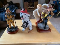 Firefighters figurines South Bend, 46628