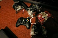 black Xbox 360 game console with two controllers Pueblo, 81008