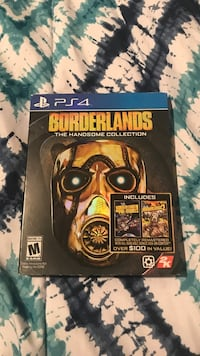 Borderlands The Handsome Collection PS4 game case Charlotte, 28213