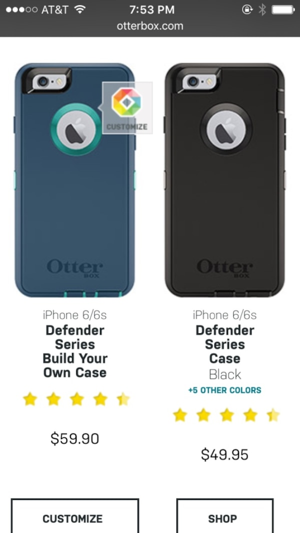 official photos 11008 df314 Otterbox defender series iPhone 6s