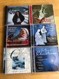 Six Christmas cds  Struthers, 44471