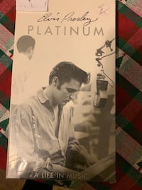 Elvis Presley - Platinum Life in Music (4 CD Box) New CD Revere, 02151