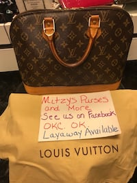 Auth Louis Vuitton Alma being listed from Mitzys Purses and More