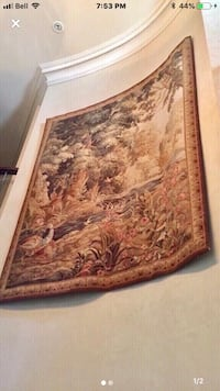 """Wall Tapestry. 75""""x60"""". Perfect condition.  Vaughan"""