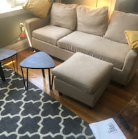Sofa couch. + coffee table set of 2