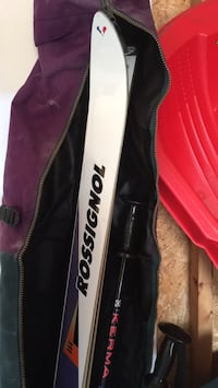 Rossignol skis with Kerma poles and High Sierra ski bag, great condition!! Vaughan, L6A 0K8