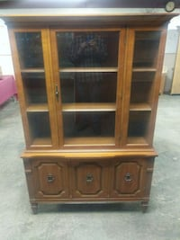 brown wooden TV hutch with cabinet Greencastle, 17225