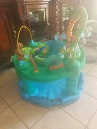 baby's green and blue activity saucer El Paso, 79924