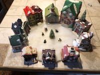 Christmas village houses 389 mi