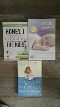 Maternity/Baby Books. $10 for all 3 Milton, L9T 8W6
