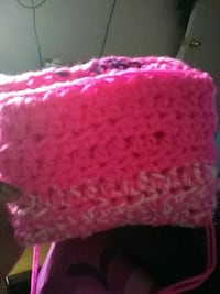 pink and white knitted textile Brooklyn, 11203