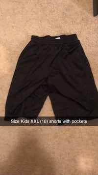 Size XXL (18) Boys Athletic Shorts Brandon, 39047