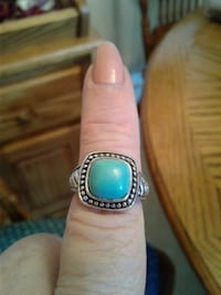 Turquoise ring 925 Chilhowie, 24319
