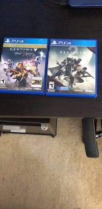 two Sony PS4 game cases Boonsboro, 21713