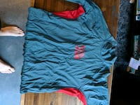 blue and red crew-neck t-shirt Vancouver, V6A 4G8
